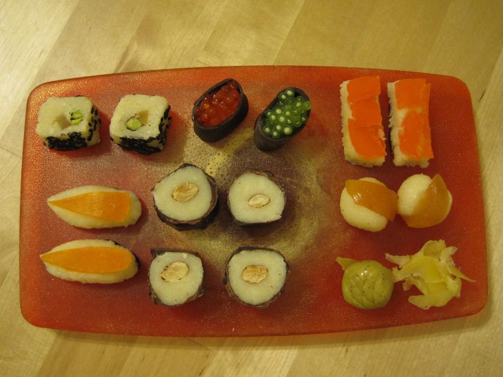 """Sweet """"Sushi"""" Selection"""